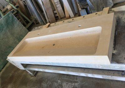 Création vasque en pierre de Mareuil